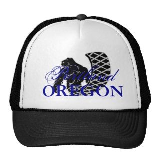 Beaver, Portland Oregon Hat