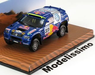 43 Minichamps VW Race Touareg #317, Rally Paris Dakar 2005