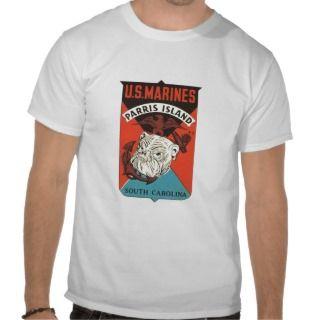 Marines Marine Corp Vintage 1960s T Shirt