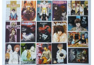 DEATH NOTE ANIME Set of 16 Postcards # 2