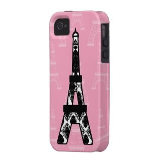 Eiffel Tower iPhone 4/4s Case Mate Tough Case