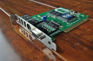 MOTU PCI 324 High Input Digital Audio Interface Card