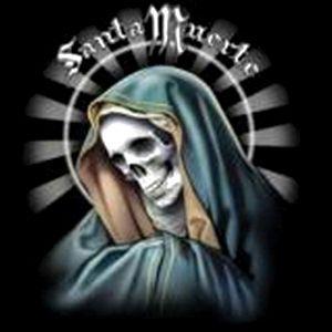Gothic, Biker, T Shirt, Santa Muerte, S   6XL