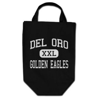 Del Oro   Golden Eagles   High   Loomis California Canvas Bag