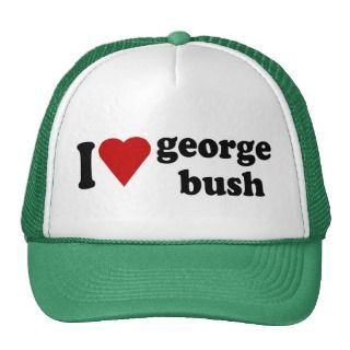 Heart George Bush Hat