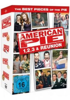 American Pie   1 3 + Klassentreffen   Limited Edition   4 DVD BOX OVP