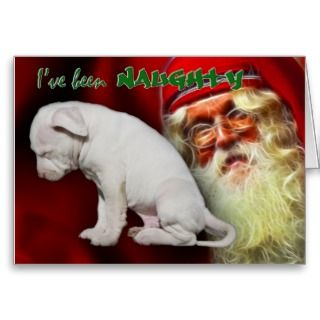 NaughtySantas Naughty & Nice List Greeting Card