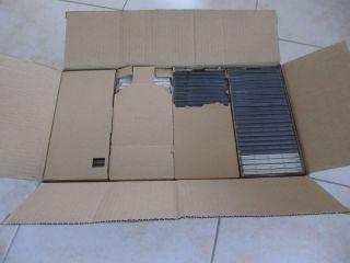 100 CD Leerhüllen CD Hüllen Jewel Case für 1 CD / DVD