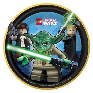 Lego Star Wars Partyteller 8 Stück   Durchmesser 17 cm: