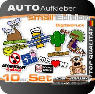 E334 Shocker Auto Aufkleber Sticker Autoaufkleber Style NEU Set