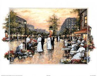 Paris (Ladies & Gentlemen Promenade) Posters