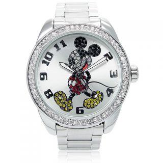 Disney Mickey Mouse Uhr   Classic Diamant   Sammleruhr   26166