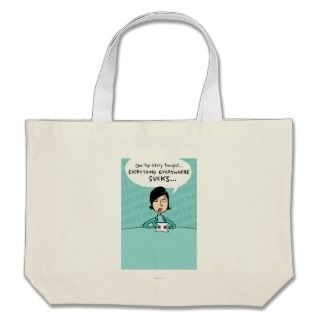 Shoebox News Anchor Canvas Bag