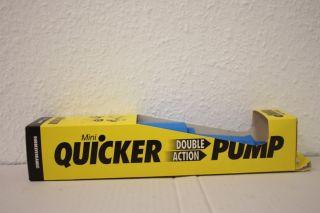 Original Quicker Pumpe Luftpumpe Fahrrad pumpe Luftmatratze Camping