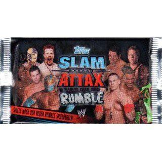 WWE Topps Slam Attax Rumble Booster (1 Packung, 5 Karten)   deutsch