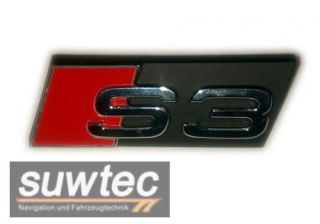 Audi Schriftzug A3/S3 8P/8PA Kühlergrill Grill Emblem