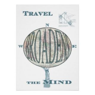 Travel Broadens the Mind Print