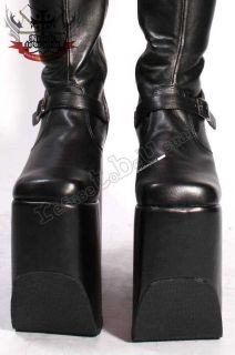 Extreme Fetish 7 Gothic Punk Drag Queen Platform Boot