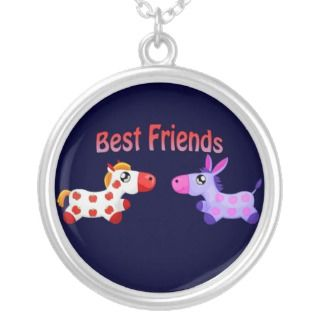 Best Friends Horses Pendant
