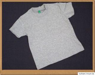 UNITED COLORS of BENETTON T Shirt Top Shirt 4 Farben Gr. 9 Monate 12