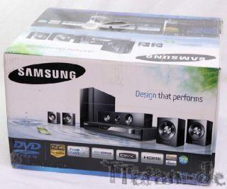 Samsung HT C350 5.1 Kanal Heimkinosystem mit DVD Player