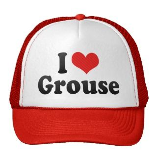 Love Grouse Hat