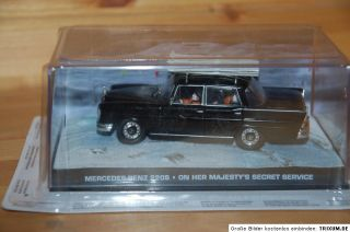 Nr.78 James Bond 007 Mercedes Benz 220S 143 + Heft