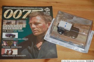 Nr.65 James Bond 007 Land Rover Defender 143 mit Heft