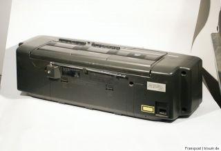 SIEMENS RD 128 STEREO RADIORECORDER RADIO GHETTOBLASTER BOOMBOX