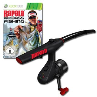Bass Fishing 2010 inkl. Angelrute für XBOX 360  NEUWARE  dt.