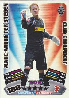 12/13 2012/2013   Club100 Einhundert Marc Andre Ter Stegen 361