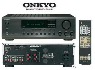 ONKYO TX 8255 SCHWARZ   STEREO HIFI RECEIVER   NEU+OVP