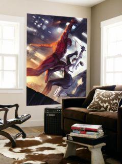 Daredevil #113 Cover Daredevil and Lady Bullseye Posters