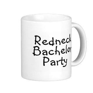 Redneck Wedding Mugs, Redneck Wedding Coffee Mugs, Steins & Mug