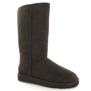 Ugg Australia Classic Tall Chocolate Sheepskin Womens Boots