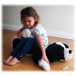 CuddlesTime 75 cm Border Collie Plüschtier Spielzeug
