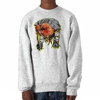 Native American Indian Warrior Pull Over Sweatshirts