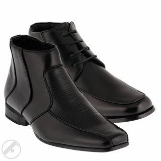 Gefüttert Business Herren Stiefelette Stiefel Schuhe NEU BOOTS Innen