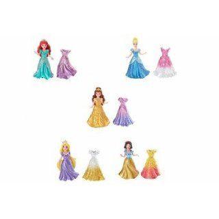 Mattel Disney Princess Core   Minipuppen MagiClip Mini Prinzessin