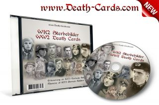 WK2 STERBEBILD CD   DEATH CARDS CD   8.373 SCAN FOTOS   UBOOT   ELITE