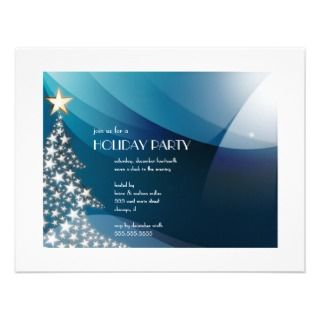 and modern christmas tree holiday party invitations christmas holiday