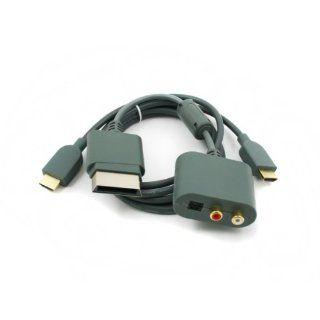 Lioncast Xbox360 HDMI Kabel mit Audio Adapter Games
