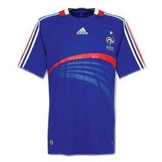 Adidas Frankreich FFF Home Trikot, Blue/Red Sport