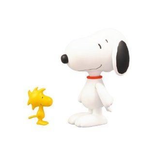 Peanuts Snoopy Woodstock and Snoopy Ultra Fine Detail Figur (Set of 2)