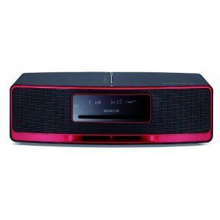 Kenwood K 323 R Kompaktanlage schwarz/rot Elektronik