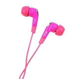 Jivo Sound In Ear Noise Isolating Headphones   Hot Pink: