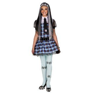 Monster High E325 001   Frankie Stein Kostüm, 1 teilig, Größe 128
