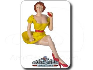 PAULETTE 124 Gelb Yellow Motorhead Figur   Figure   Figurine