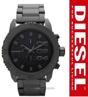 Uhr DZ4221 Keramik Herrenuhr Schwarz MATT Chrono UVP 399€