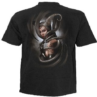 Gothic Metal Wacken Biker Tshirt Shirt Hemd Dark Desire Snake schwarz